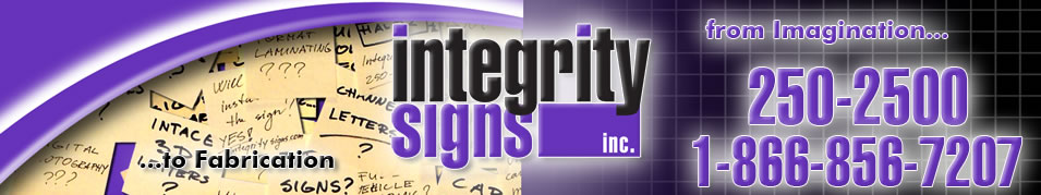 Integrity Signs Logo